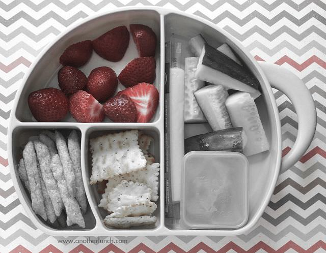 Global panorama healthy snack box