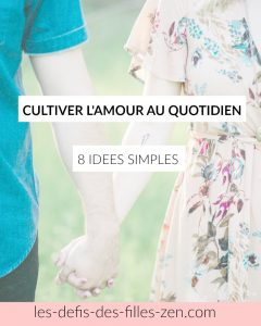 cultiver l'amour