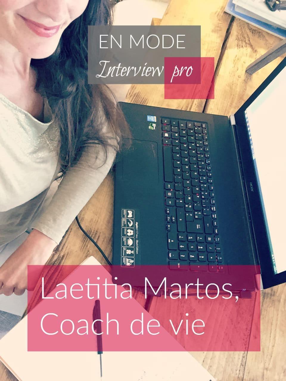 Interview Laetitia Martos