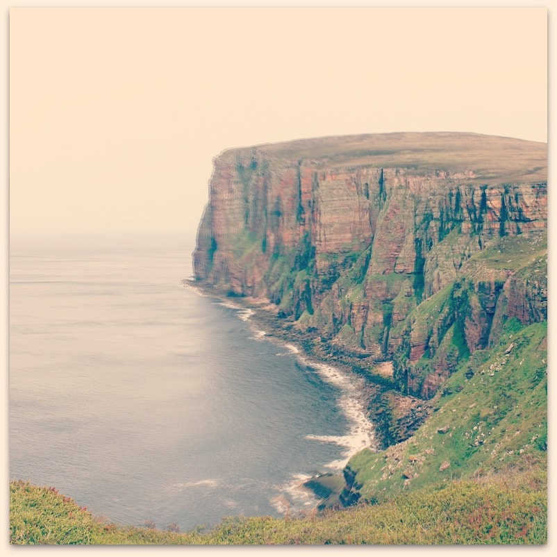 Mark Longair Cliffs by the old man of hoy (2)