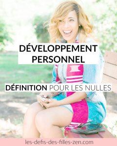 Développement personnel définition