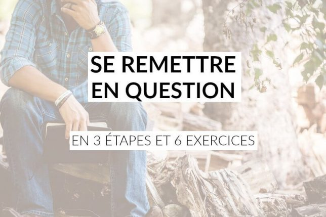 se remettre en question