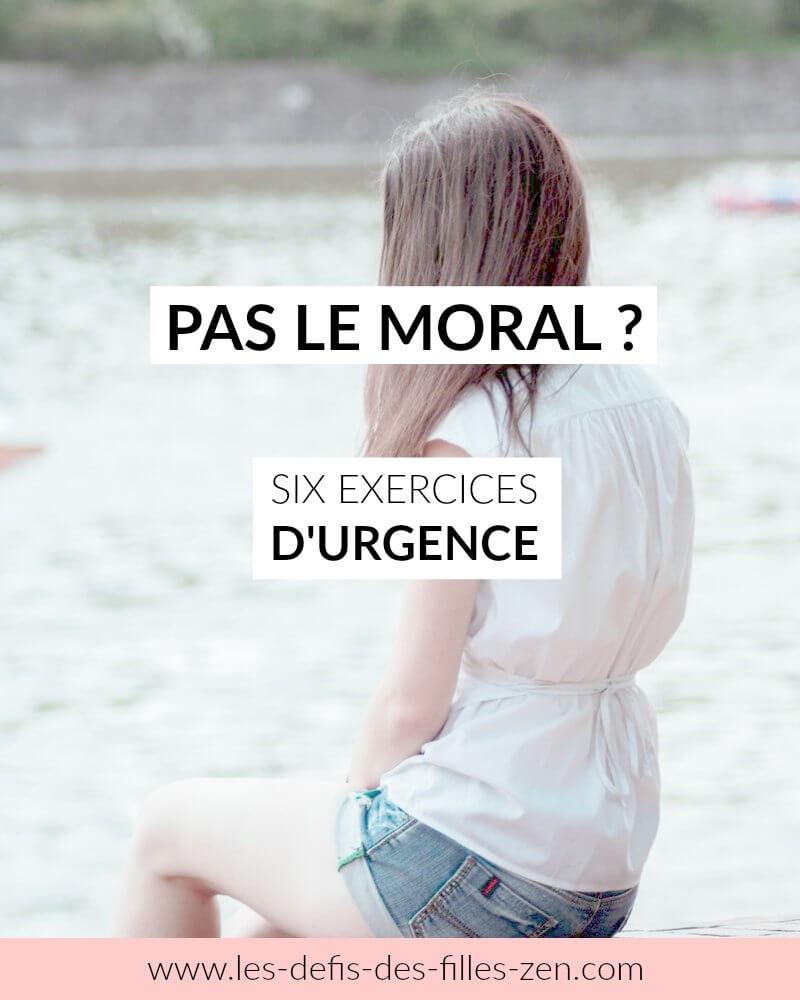 pas le moral
