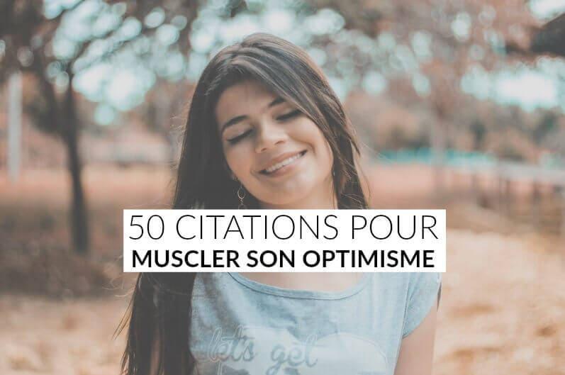 citations sur l'optimisme