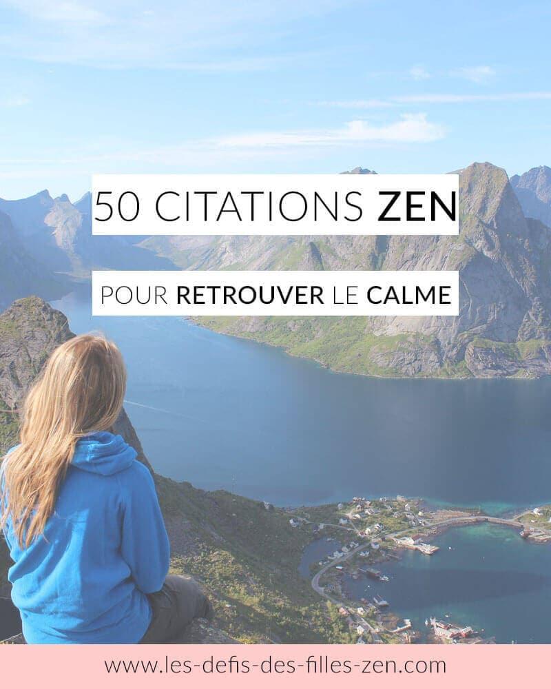 citations zen