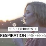 exercices de respiration