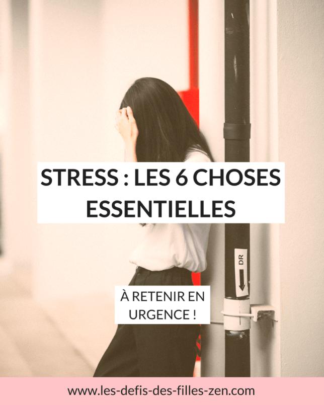 Découvrez comment identifier le bon stress, et mes 6 pistes favorites pour apprendre à vivre sans mauvais stress au quotidien!