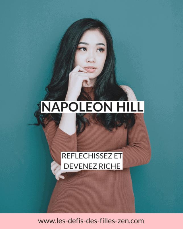 """Napoleon Hill. Connaissez-vous cet auteur hors du commun ? Il a publié il y a presqu'un siècle, en 1928, la première version de """"réfléchissez et devenez riche"""", un des livres les plus vendus au monde, avec plus de 60 millions d'exemplaires vendus :-)"""