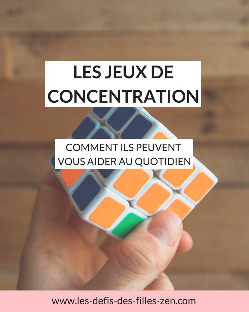 Manque de concentration ? Découvrez les jeux de concentration mentale qui peuvent vous aider au quotidien !