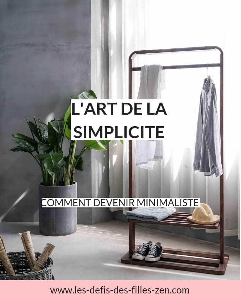 Découvrez «L'art de la simplicité» de Dominique Loreau, un livre qui réinstaure les bases pour une vie plus saine et conforme à nos besoins.