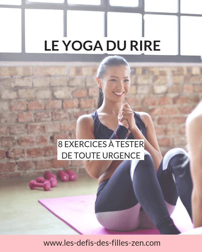 Apportez du rire à votre corps et votre esprit suivra. Découvrez les 8 meilleurs exercices du yoga du rire pour être en meilleure santé et garder le sourire au quotidien.