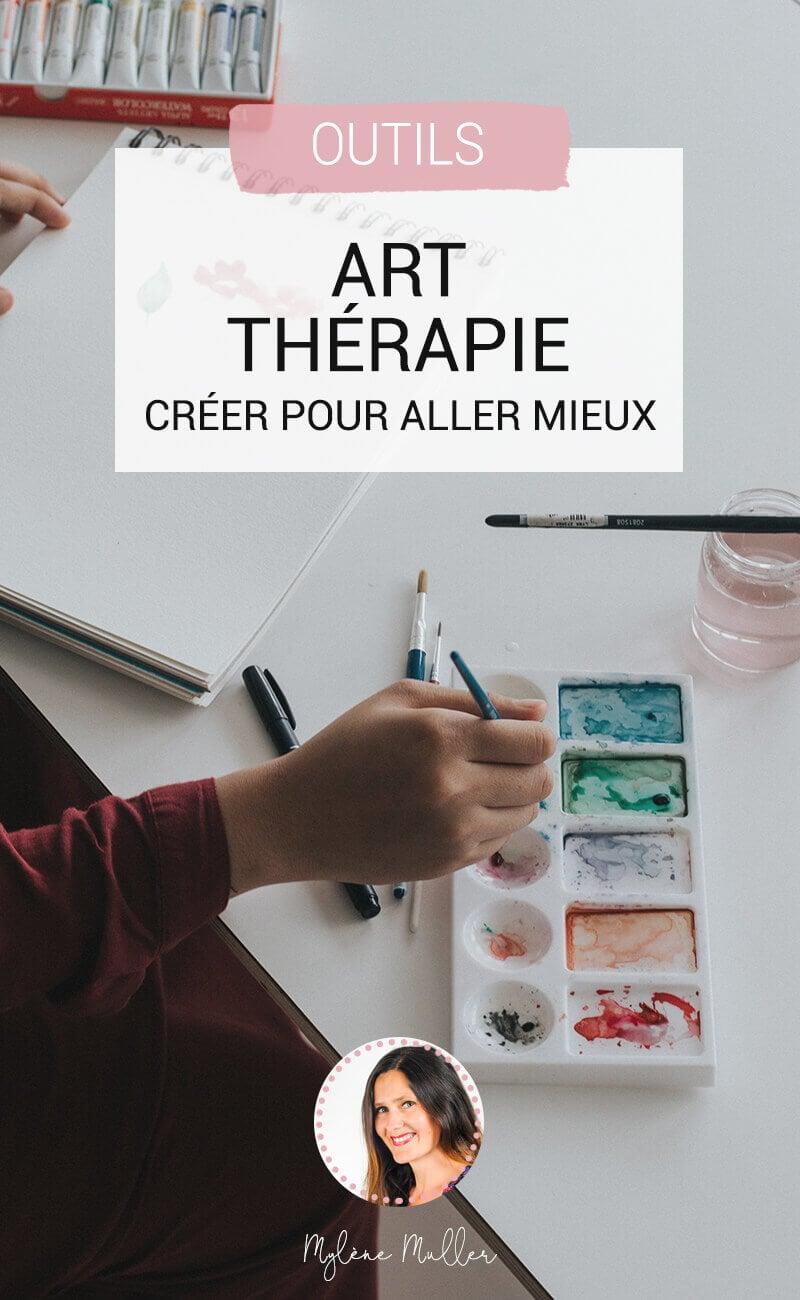 L'art-thérapie peut vous aider à ouvrir les vannes de votre inconscient et à mieux vivre chaque jour. On vous explique comment en 5 astuces.