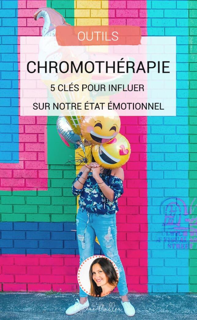 Et si les couleurs vous aidaient à mieux vivre ? Découvrez la chromothérapie pour être en meilleure santé, avoir un meilleur mental et être plus équilibrée.