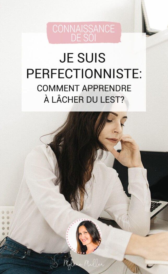 Je suis perfectionniste, comment arrêter ? Si la recherche de la perfection est une qualité, elle peut aussi devenir un défaut quand elle est poussée à l'extrême. Apprenez à lâcher du lest !