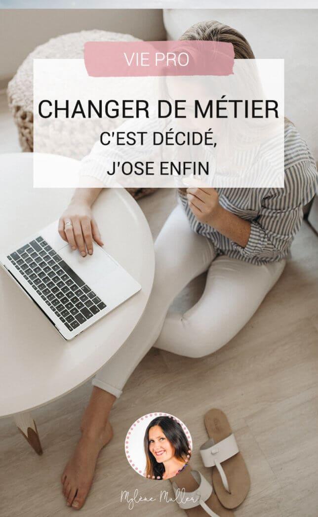 Changer de métier · Vous y pensez depuis plusieurs mois, peut-être depuis plusieurs années. Quand, comment et pourquoi changer de métier ? Quelles sont les erreurs à éviter ?