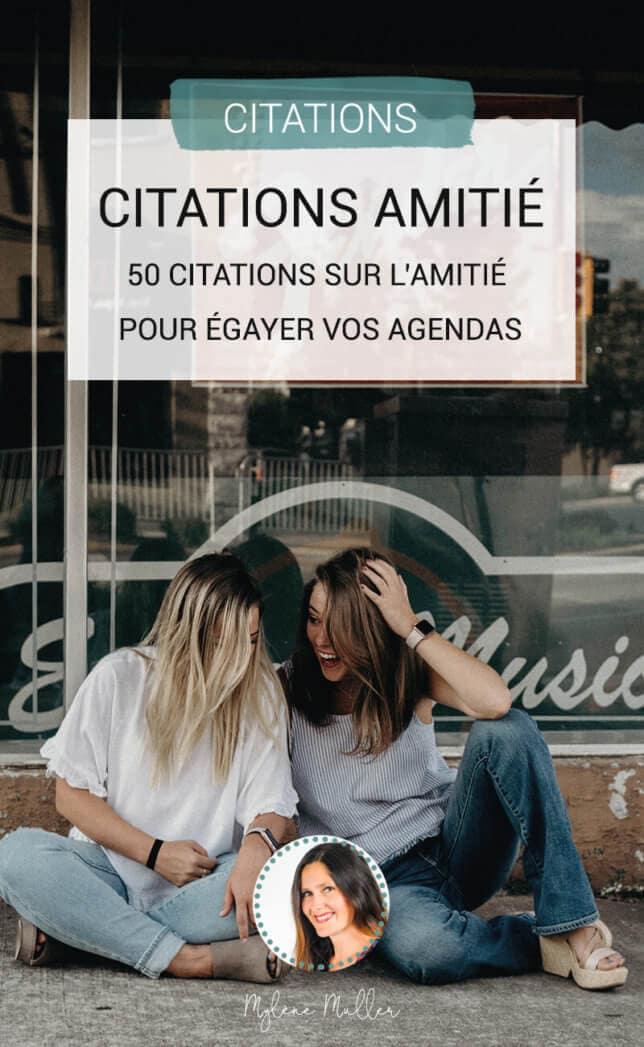 Découvre 50 citations sur l'amitié. De tous temps, les artistes et les auteurs ont écrit sur l'amitié. Retrouve 50 citations marquantes sur ce sentiment puissant qui lie deux personnes.