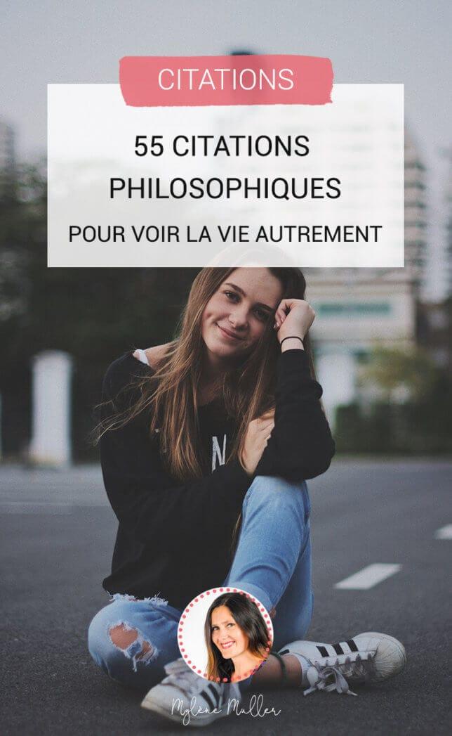 Pourquoi attendre l'arrivée d'un évènement quelconque pour valoriser et célébrer la vie ? Voici dès maintenant 55 citations philosophiques sur la vie. Découvrez-les !