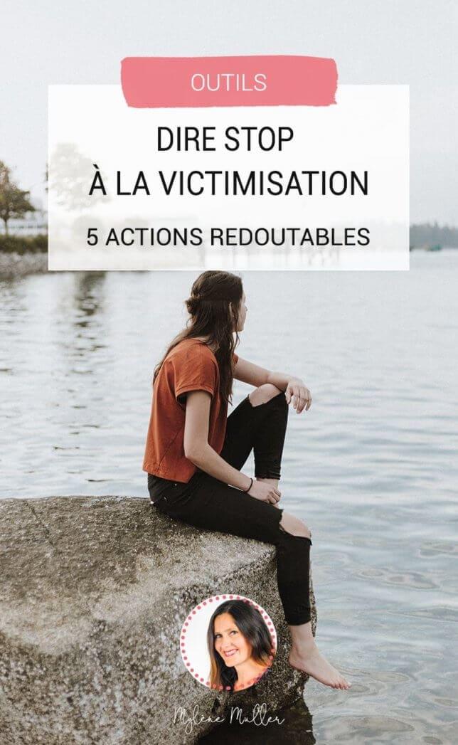Halte à la victimisation ! On vous aide à reprendre en main votre approche des autres pour ne plus subir les relations mais au contraire vivre plus sereinement vos échanges avec les autres.