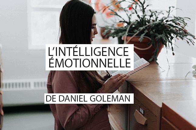 L'intelligence émotionnelle de Daniel Goleman est un livre publié en 1995, qui décrit l'importance de cette intelligence dans notre équilibre de vie. Découvrez comment ce livre peut