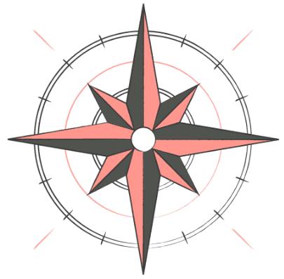 La boussole de l'alignement
