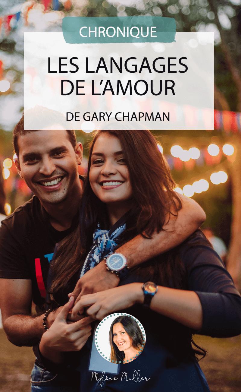 Pour apprendre à connaître sa propre langue et celle de son conjoint, et ainsi enrichir votre relation, découvrez l'ouvrage de Gary Chapman, « Les langages de l'amour »