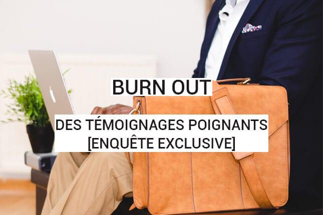 840 témoignages poignants sur le burn-out : découvrez l'enquête exclusive sur le syndrome d'épuisement professionnel !