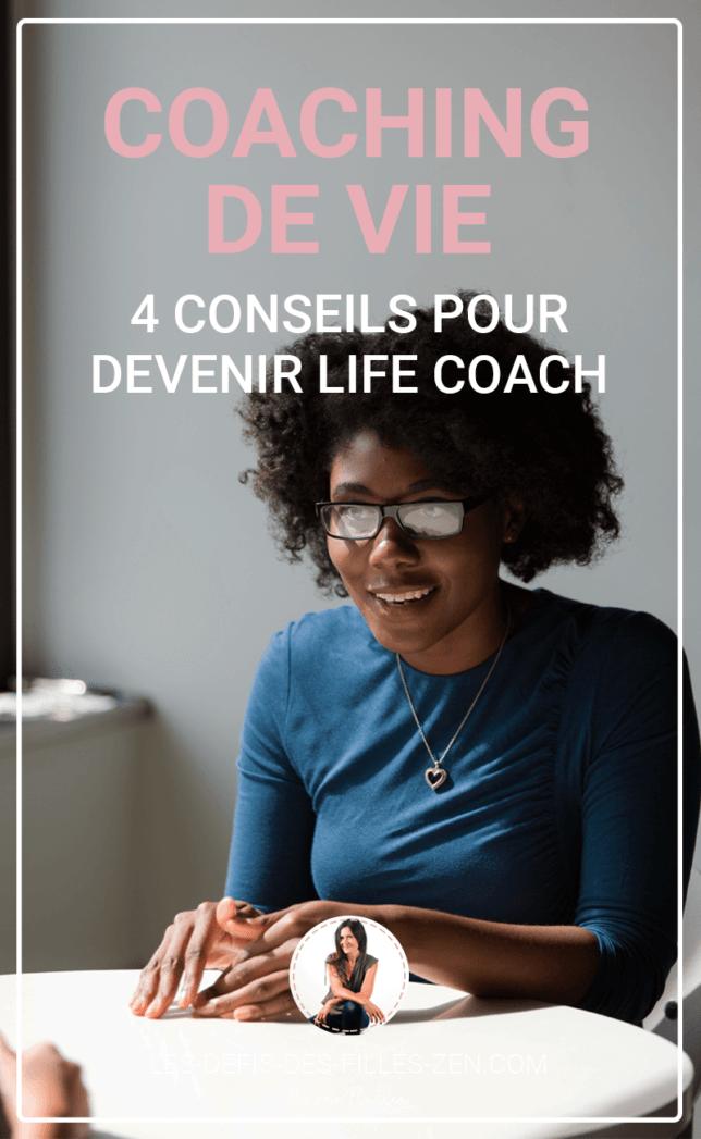Le coaching de vie vous intéresse ? Ou vous envisagez d'en faire votre métier ? Mettez toutes les chances de votre côté grâce à nos 4 conseils !