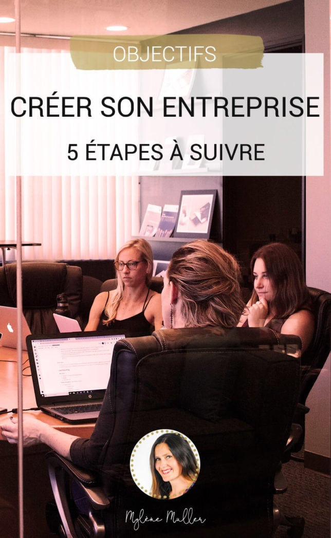 Créer son entreprise... Ca vous intéresse ? Découvrez dans cet article comment parvenir à devenir votre propre patron en seulement 5 étapes !