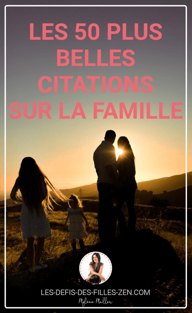 Vous cherchez des citations sur la famille ? Découvrez dans cet article les 50 plus belles citations pour réapprendre à vivre comme une famille unie !