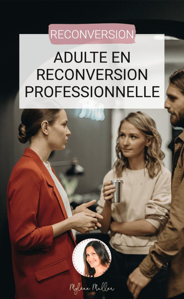 Vous êtes adulte et vous voulez réussir votre reconversion professionnelle ? Alors suivez le guide : 6 étapes pour trouver LE métier qui vous correspond !
