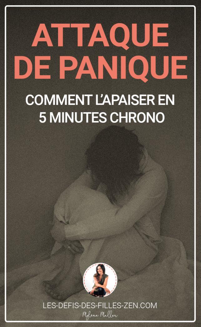 SOS attaque de panique, comment apaiser ce trouble ? Découvrez 7 méthodes de relaxation pour réduire la panique et vous en libérer.