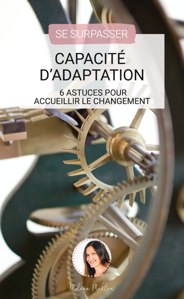 Vous voulez développer votre capacité d'adaptation ? Alors découvrez sans plus attendre ces 6 astuces pour développer votre adaptabilité.