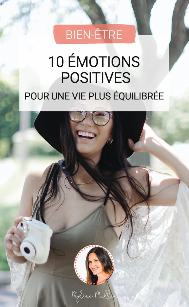 Les émotions positives, comment faire pour les créer ? Découvrez quelles sont les émotions positives et les activités qui les favorisent !