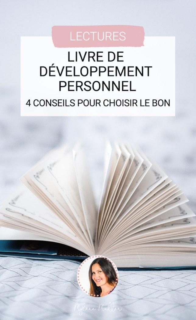 Que diriez-vous d'un bon livre de développement personnel ? Savez-vous comment le choisir ? Voici 4 conseils à suivre.