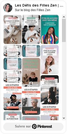 Compte Pinterest
