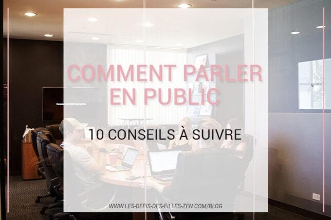 Comment réussir à parler en public ? Passez enfin le cap sans plus attendre avec ces 10 astuces très simples !