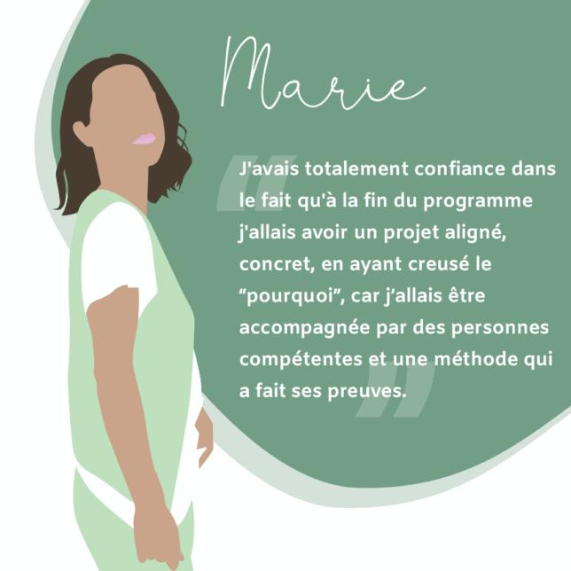 témoignage MarieF