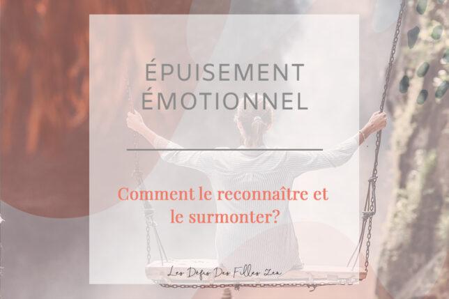Comprendre ce qu'est un épuisement émotionnel pour pouvoir le surmonter : c'est ce que nous vous proposons de découvrir dans cet article !